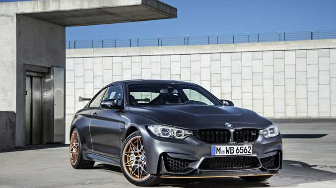 WEAPON OF CHOICE: Ultimate street legal track ready 368kW M4 already a sell out in Australia. Only 25 are heading Down Under, but will they be seen at the race track or in collectors' garages?