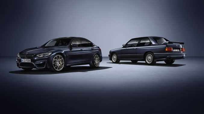 BMW M3 30 Jahre. Photo: Contributed