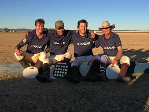 Top-class polo at Downs Shield