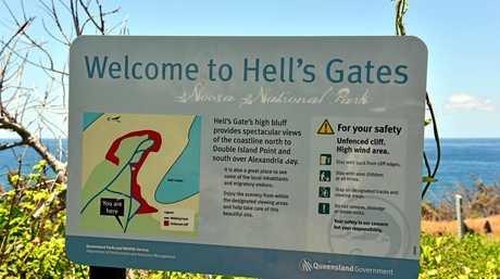 Hells Gates./ Noosa National Park. Photo Geoff Potter / Noosa News