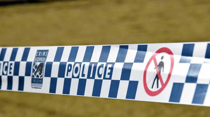 A 15-year-old boy has been arrested after allegedly being caught in a Buddina home by a resident.