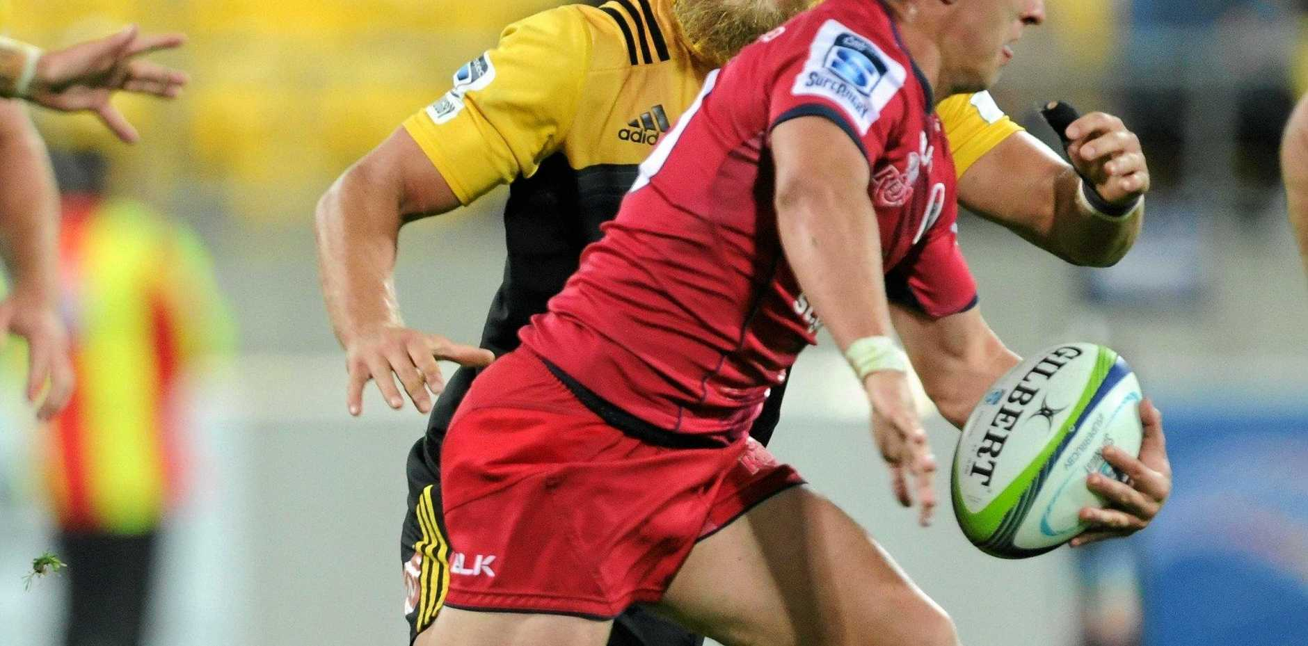 MISSING: Reds star Andrew Ready missed out on a Wallabies call up.