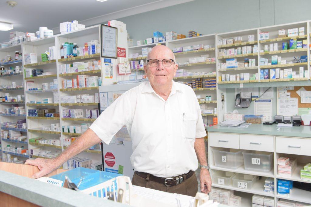 Former Friendlies pharmacist Glynn Bodimeade .