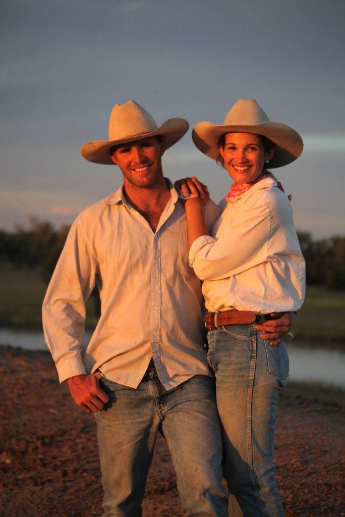 Brenton Sewell and Emma Scott. Photo: Paula Heelan