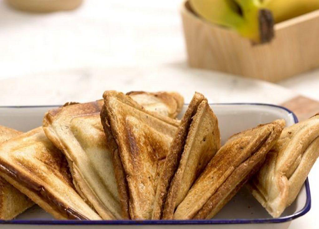 Banana jaffles