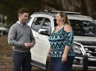Uber Queensland general manager Sam Bool and Toowoomba driver Jo Kilah launch the ride-sharing service in the Garden City on June 2, 2016