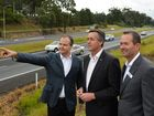 Major funding announcement election promise for Bruce Highway. Ted O'Brien (LNP candidate for Fairfax), Andrew Wallace (LNP candidate for Fisher) and Federal Infrastructure and Transport Minister Darren Chester.