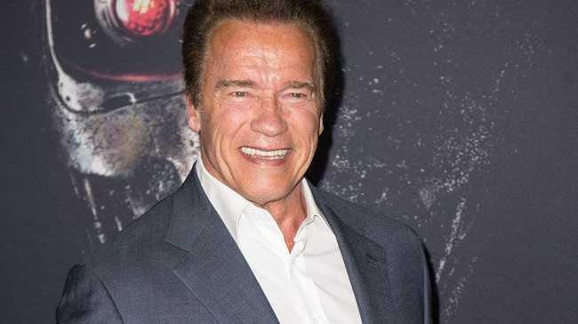 Arnold Schwarzenegger... Trump not rating well.