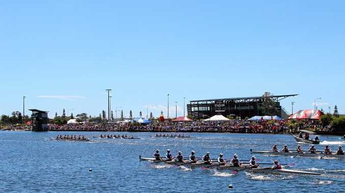 BIG CROWDS: Lake Kawana will again host a large scale event with the Australian Masters Rowing Championships starting tomorrow.