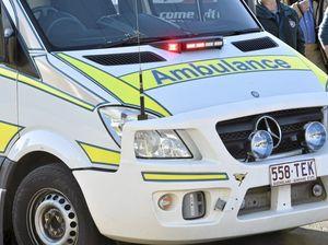 School children caught up in two-vehicle crash