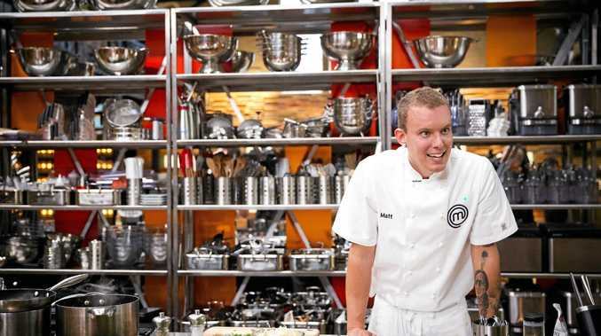 ONE TO BEAT: Noosa's Matt Sinclair out-cooked professional chefs to win an immunity pin on MasterChef.