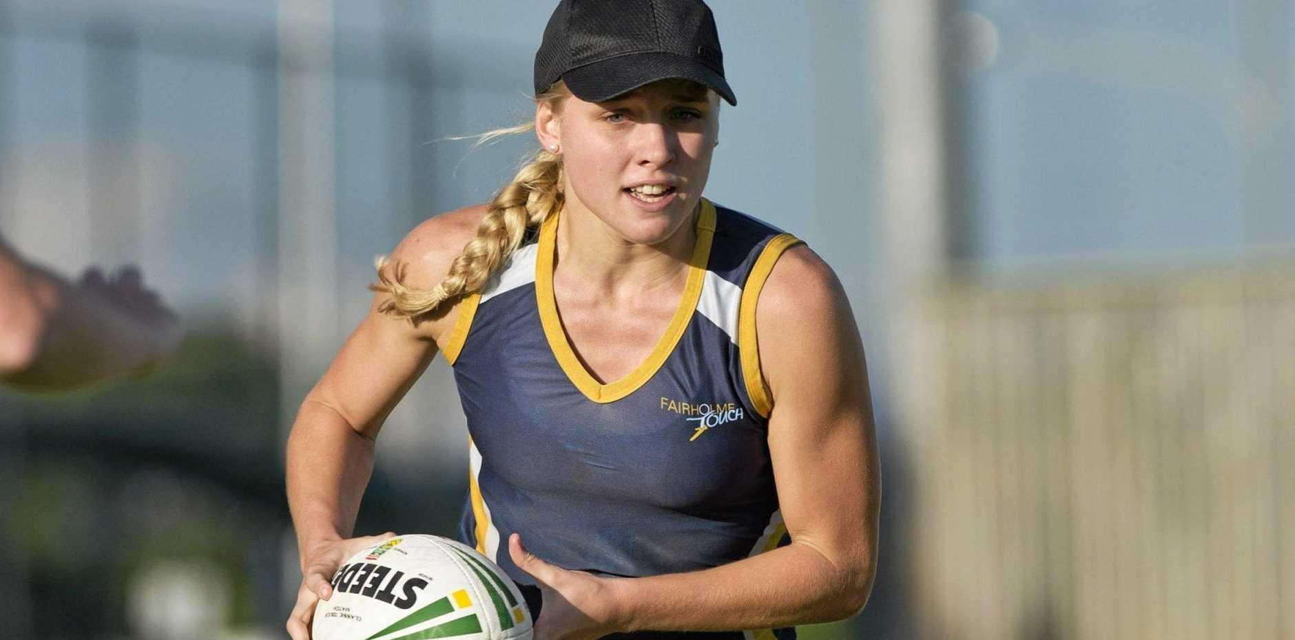 FAIR GO: University student Georgina Rackemann is currently studying for a Bachelor of Health, Sport and Physical Education.
