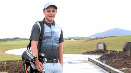 Young golfer Shae Wools - Cobb won a big golf tournment last week. Photo: Nicola Brander / Sunshine Coast Daily