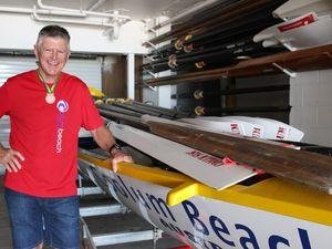 Coolum surf boat rowing crew win bronze