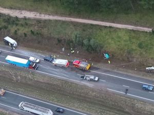 Bruce Hwy open again after truck rollover