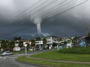 Now that's a waterspout!