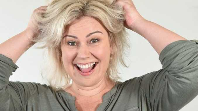 Meltopia Grandelis of Ipswich says her husband's tendency to have three or more showers a day drives her up the wall!