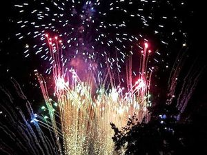 Show-stopping fireworks light up the night