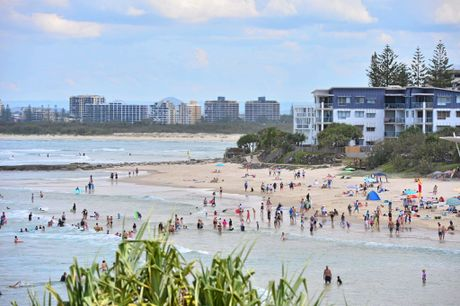 ALL IN: An increase in American visitors has pushed up Coast tourism figures.