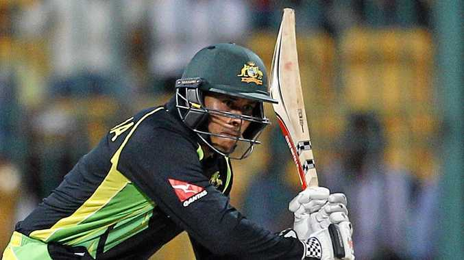 Wherever skipper ... Usman Khawaja is just happy to be playing for Australia.