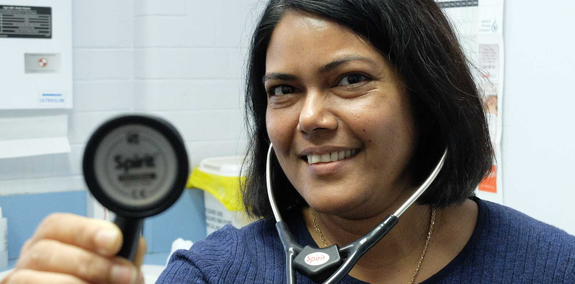 KEEP WARM: Dr Tripti Hazra encourages Toowoomba residents to maintain a healthy lifestyle this winter to prevent the common cold.