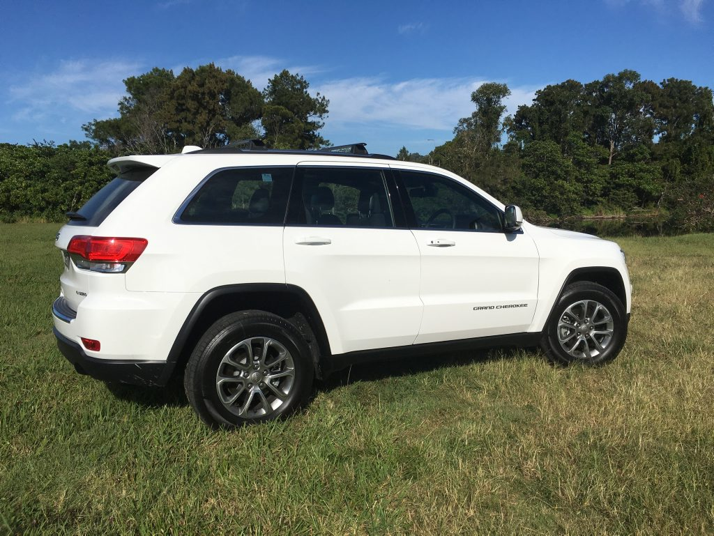 EVER CAPABLE: Jeep Grand Cherokee Laredo with 3.0-litre V6 diesel is your oil-burner 4x4 entry point at $59,000