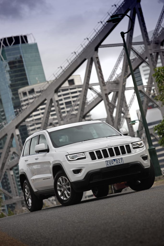 The Jeep Grand Cherokee, powered by a 3.0-litre V6 turbo diesel.
