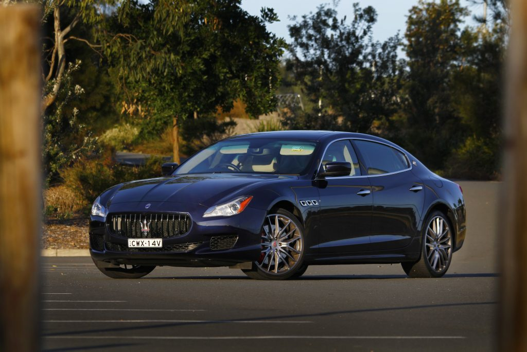 DIFFERENT CLASS: Sledgehammer performance combines with silken comfort in Maserati's ultimate Quattroporte GTS.