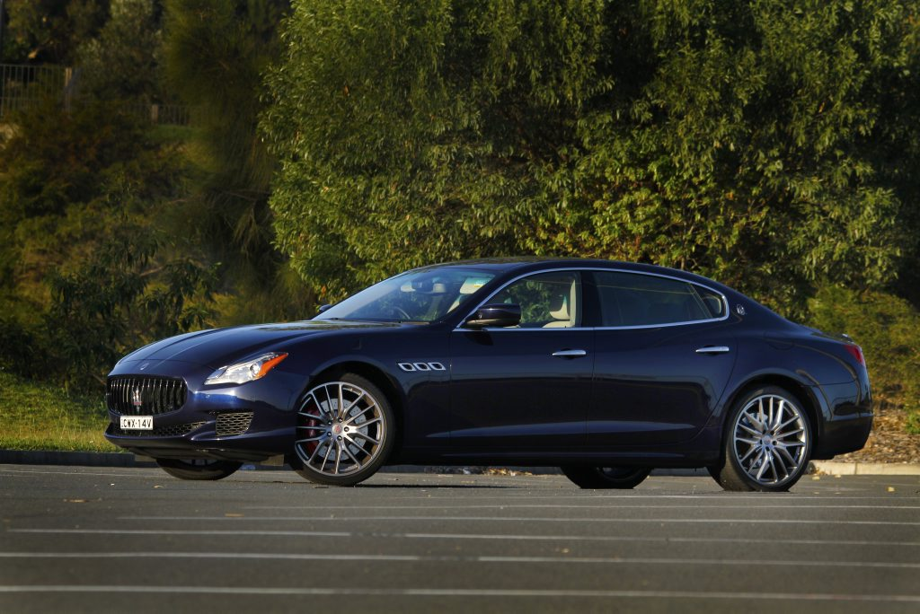 2016 Maserati Quattroporte GTS. Photo: Iain Curry / Sunshine Coast Daily