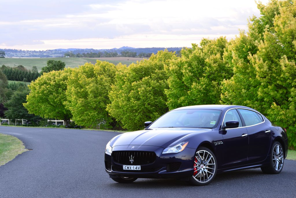 Maserati Quattroporte GTS. Photo: Contributed