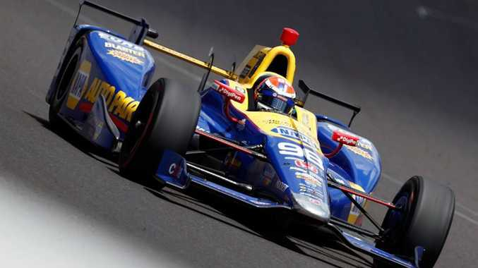 Alexander Rossi wins the 2016 Indy 500. Photo: Contributed