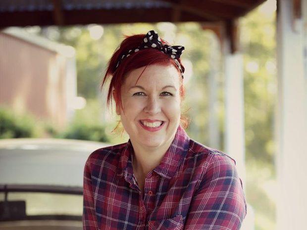 Founder of MamaBake Michelle Shearer and blog partner Karen Swan.