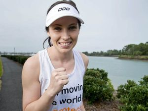 Emma Price puts in to an excellent cause in running event