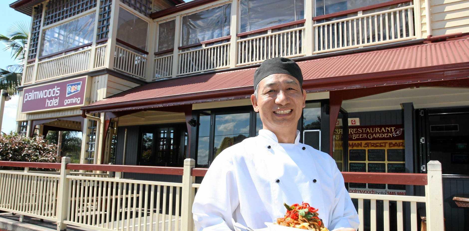Tibetan chef Jampa Jampa, who hosted Tibetan nights at Palmwoods Hotel in 2012.