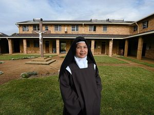 Nun steps out of monastery for first time in 8 years