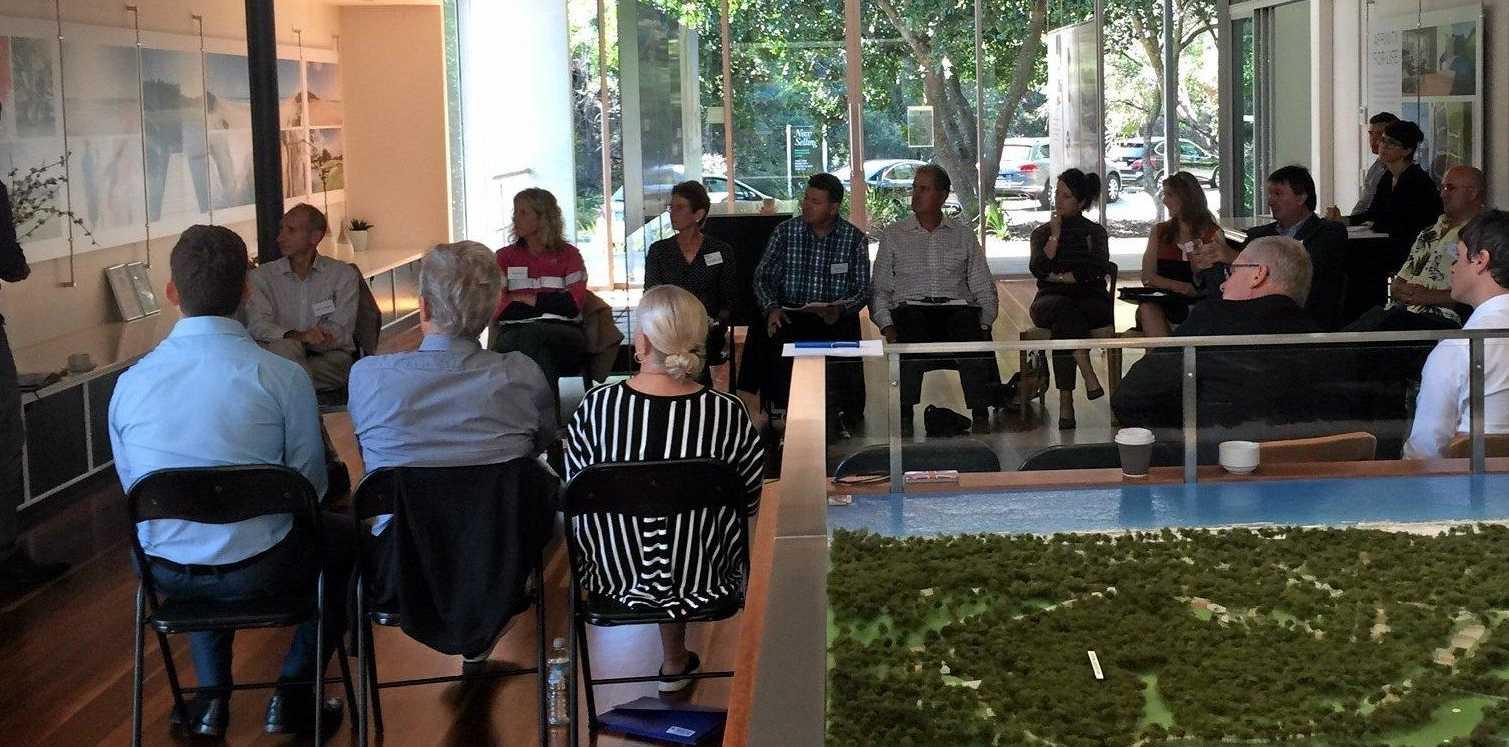 Participants at a Sekisui forum at Yaroomba.