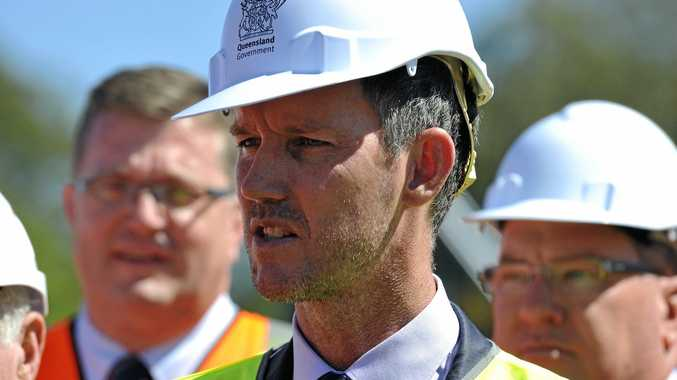 Queensland Energy Minister Mark Bailey defends the government's approach to electricity price control. Photo Kevin Farmer / The Chronicle