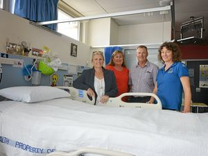 High-tech hospital bed improves Gympie patients' safety and nurses' backs