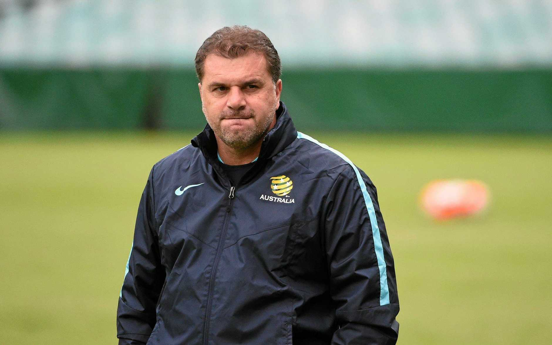Socceroos coach Ange Postecoglou is excited at the prospect of blooding new players.