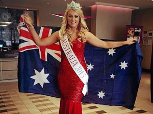 Beauty pageant has fairy tale ending for Erin