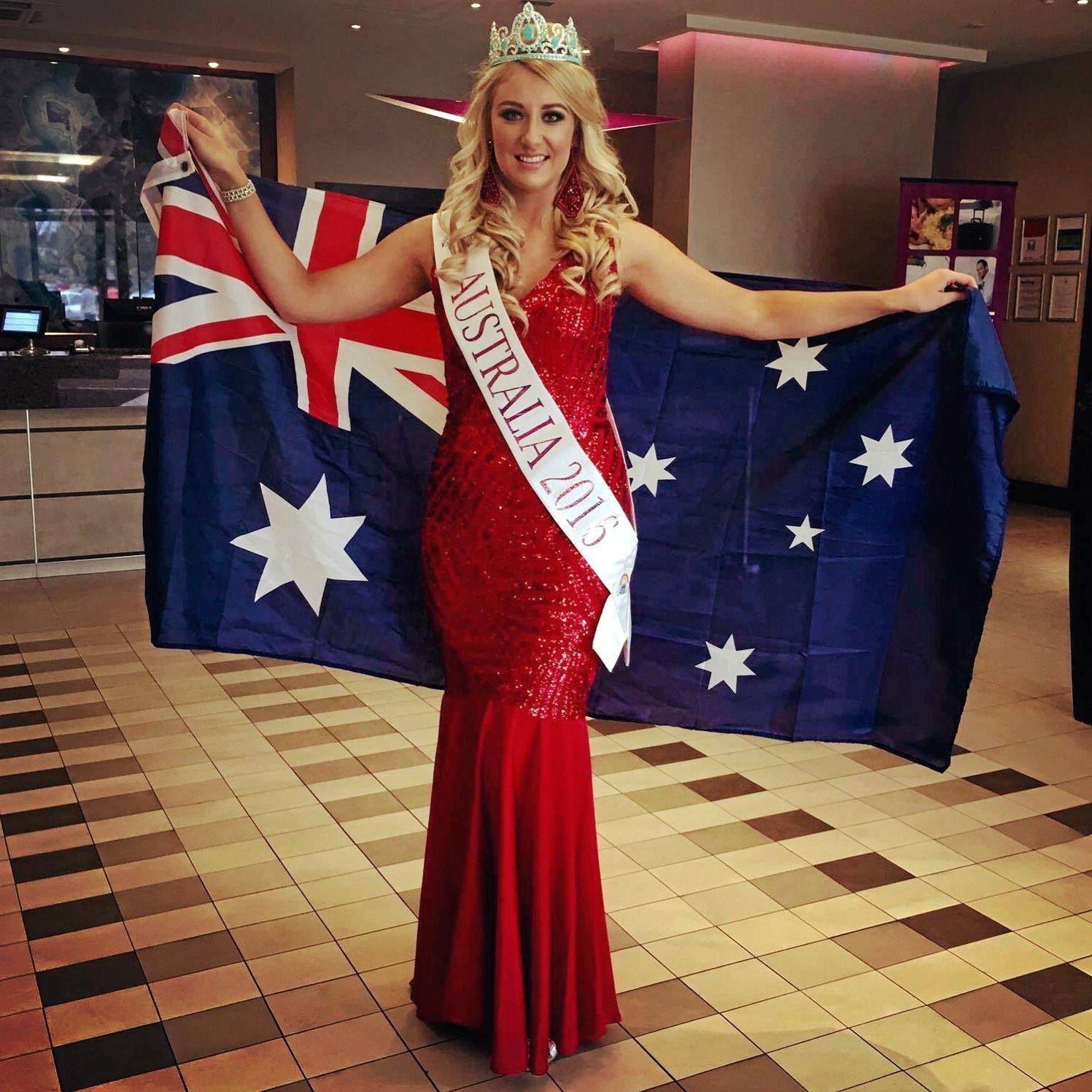 Erin Stanfield has been crowned Face of the Globe.