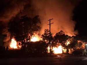 Depot Hill fire