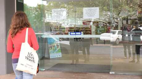 Library closed Photo: Craig Warhurst/News mail