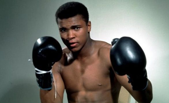 MUHAMMAD Ali back in his prime as