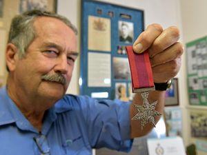 Museum gets lookalike of hero's Star of Courage medal