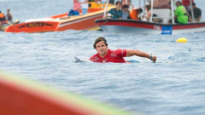 CHASING VALUABLE POINTS: Julian Wilson's world title quest is teetering.