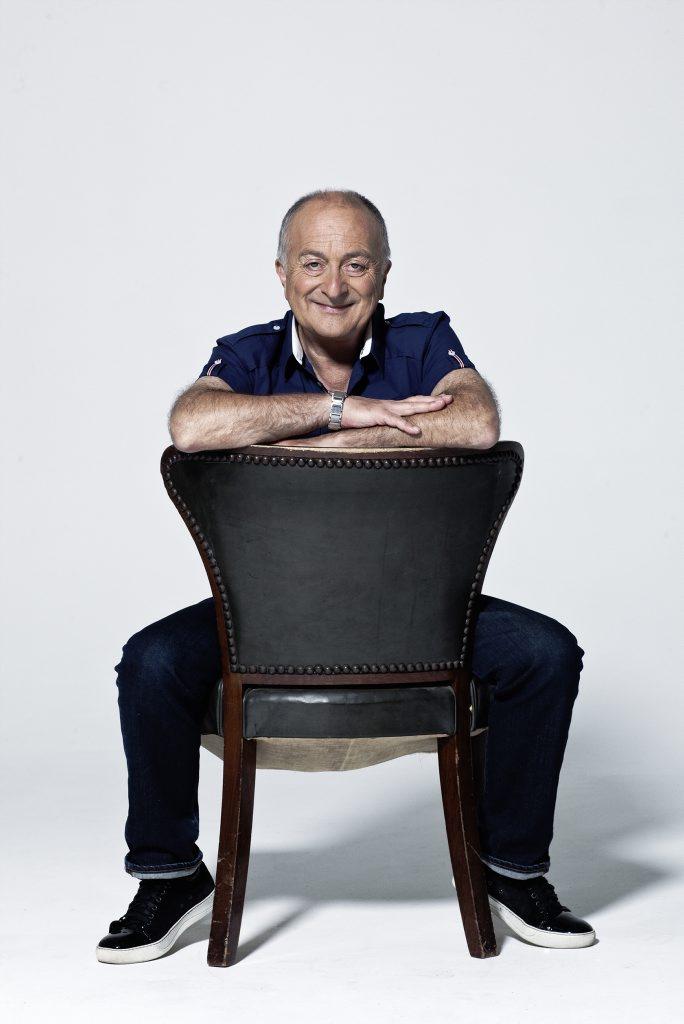 Tony Robinson hosts the TV series Tony Robinson's Time Walks.