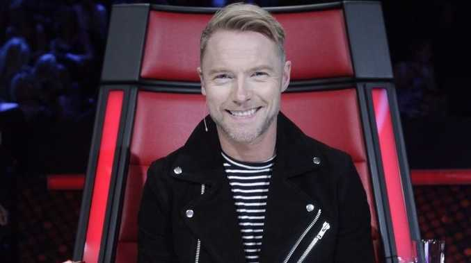 The Voice Australia coach Ronan Keating.