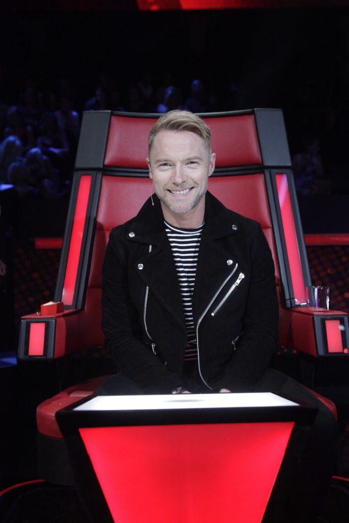 The Voice Australia coach Ronan Keating.