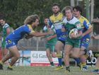 Junior player Mitch Whitton stepping up in the game against Souths Sharks.